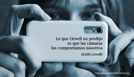 Orwell www.lapanoramica.cat quividi amscreen publicitat