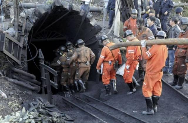 mina de carbón china