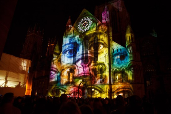 Proyección de video mapping