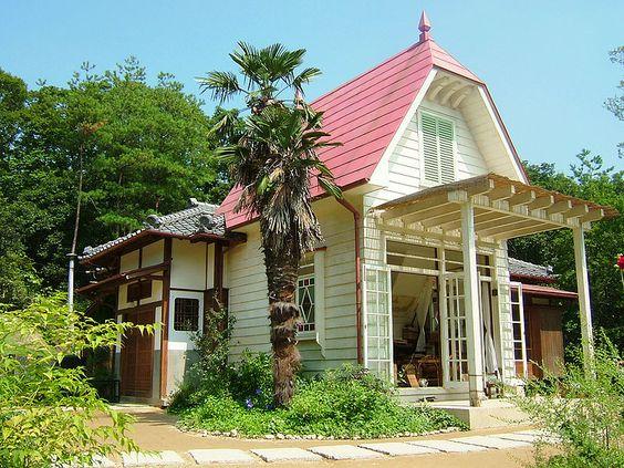 Réplica de la casa de Satsuki y Mei de 'Mi vecino Totoro' cerca de Nagoya (Japón).