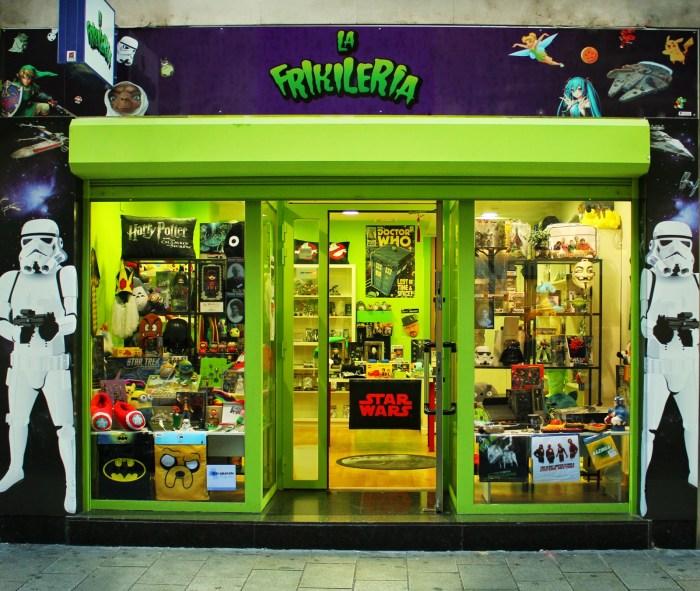 La Frikilería, tienda física en Logroño.