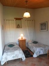 Gerboise - Vue chambre lits jumeaux