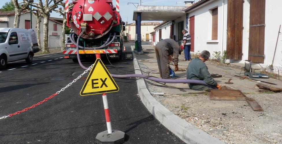 Degazage de cuves à fuel