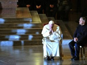 ITALY-RELIGION-POPE-MAFIA