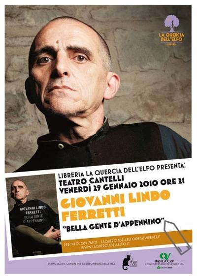 Giovanni Lindo Ferretti - La Quercia dell'Elfo - poster 2010