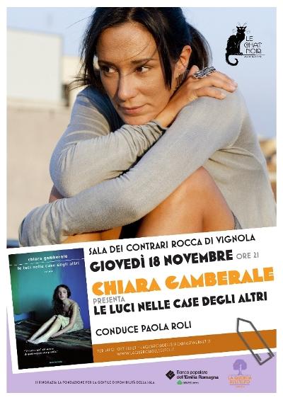 Chiara Gamberale - La Quercia dell'Elfo - poster 2010