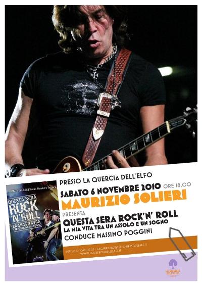 Maurizio Solieri - La Quercia dell'Elfo - poster 2010