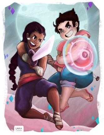 Connie and Steven Universe