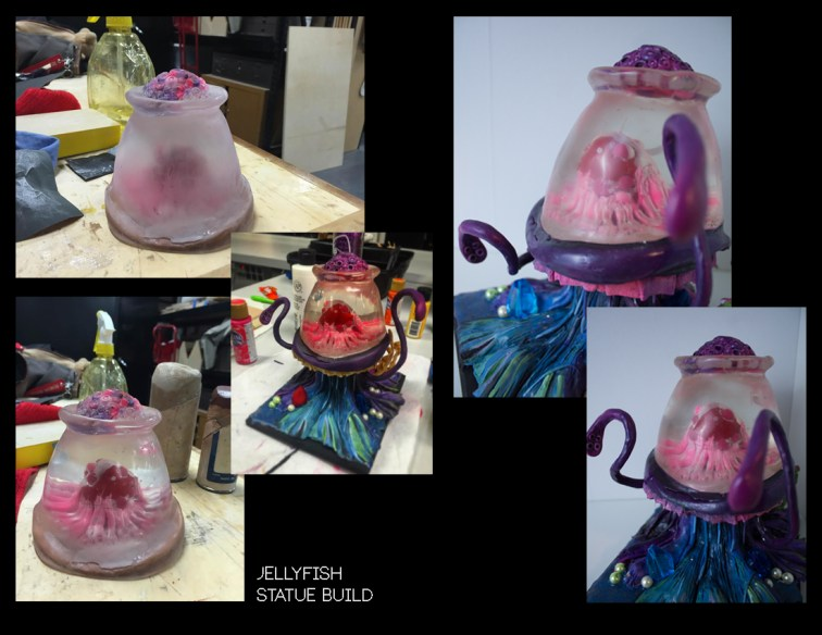 Jelly Fish - Sculpting, Molding and Casting