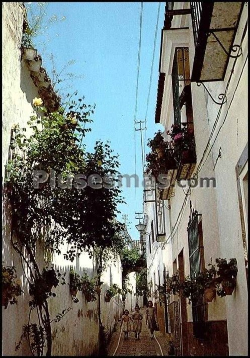 -Photography extracted from Plasesmas.com (Calle Las Flores, La Rambla, 1956)