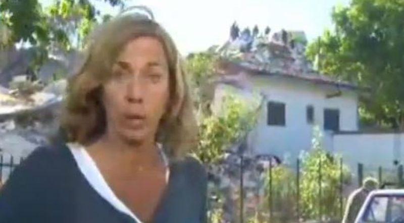(VIDEO) Terremoto, un edificio crolla ad Amatrice durante diretta Cnn