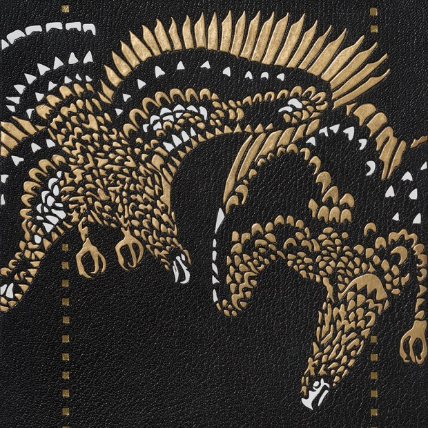 Die Nibelungen Castiglioni détail mosaïque
