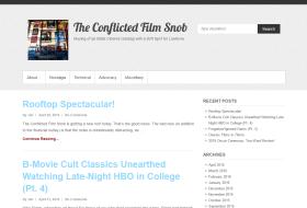 LAMB #1799 – The Conflicted Film Snob