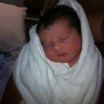 Sullivan family baby 12 introducing Isobel