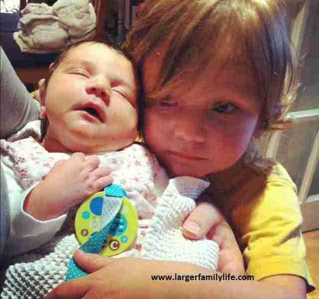 Joseph adores his baby sister