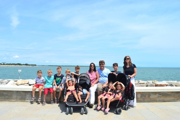sullivan family in Caorle