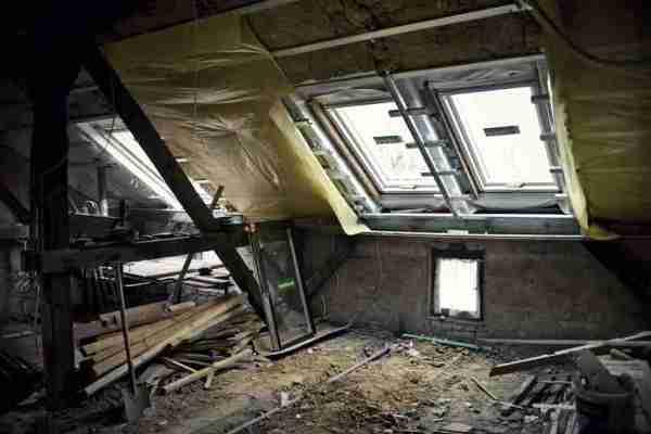 loft conversion building works
