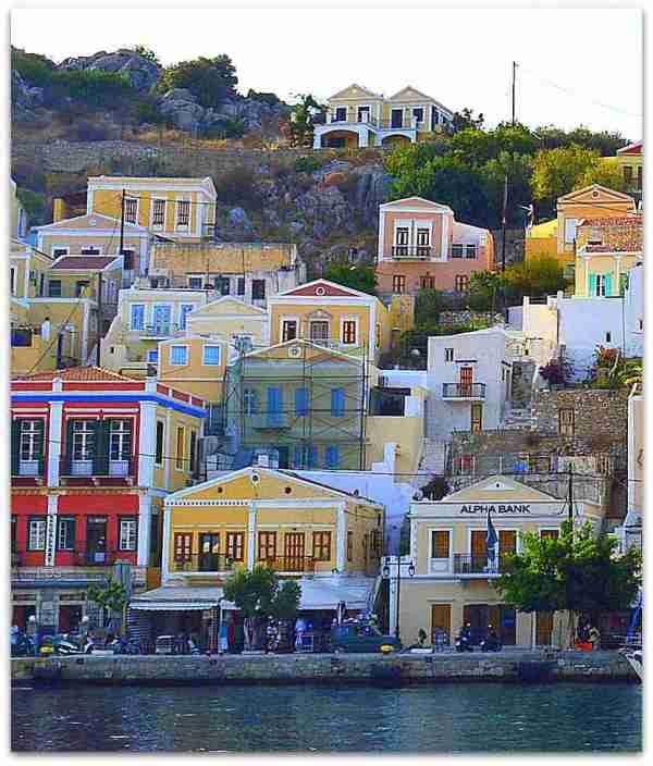 Symi houses 6