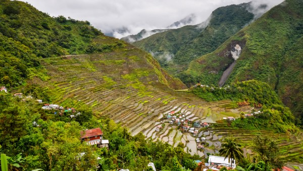 Rice Terraces - Batad, Banaue, Ifugao, Philippines