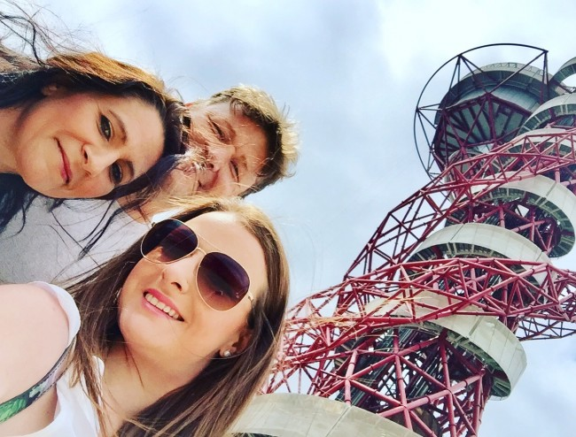me mike emily arcelormittal orbit