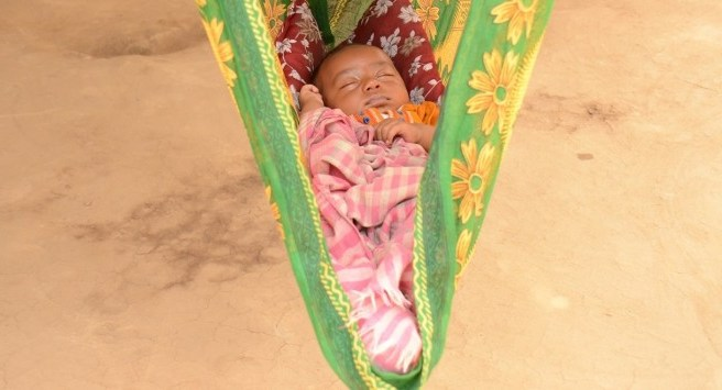 Sleeping-baby-in-Bangladesh