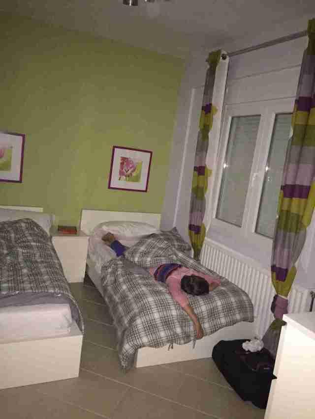 villa anna maria sid sleeping