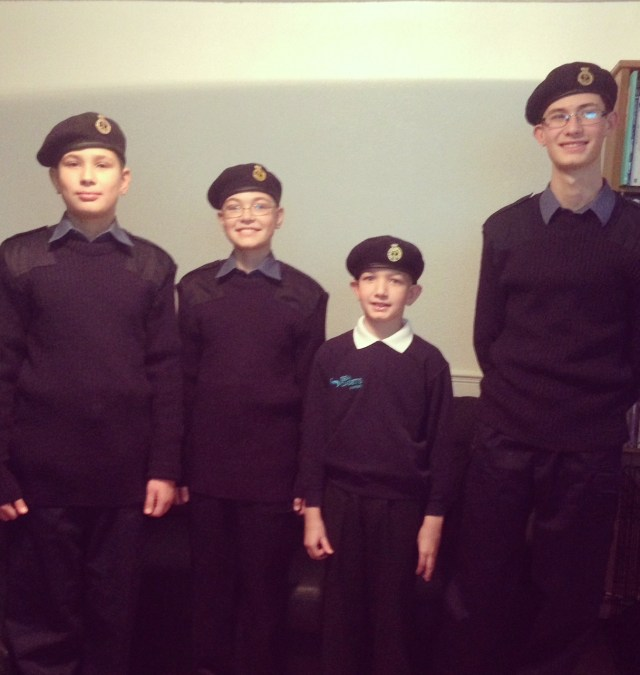 Sullivan boys sea cadets