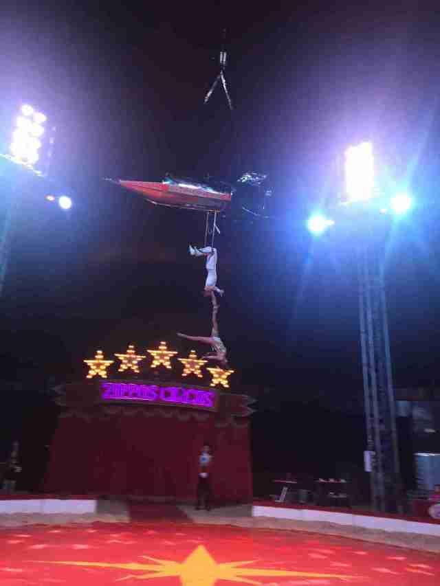 Zippos Circus The Garcias with their Supernova Rocket