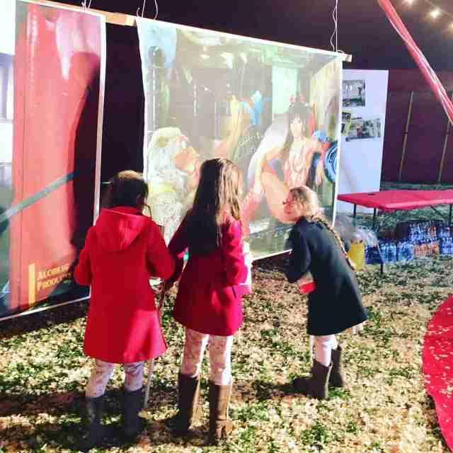 Zippos Circus excited children