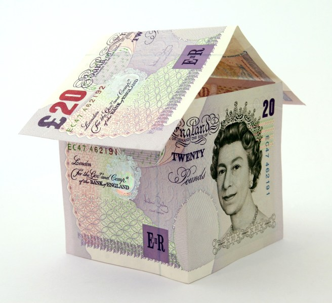 house £20 note