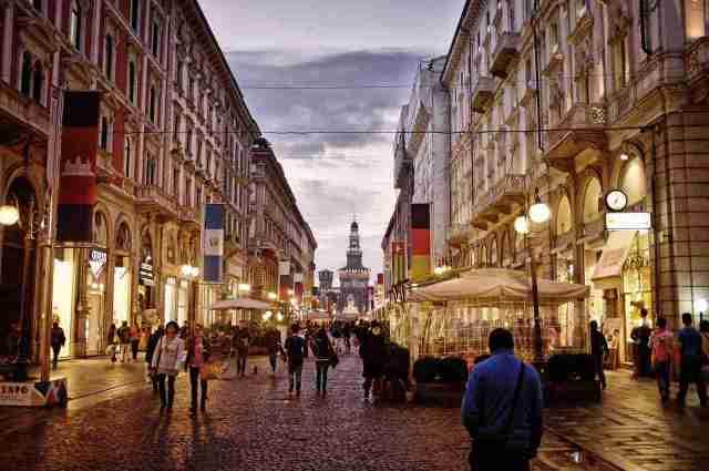 milan city centre italy