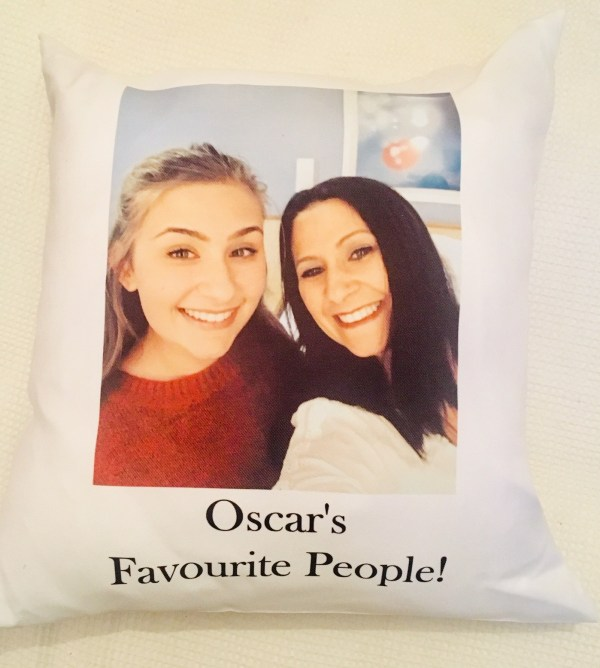the gift experience personalised cushion