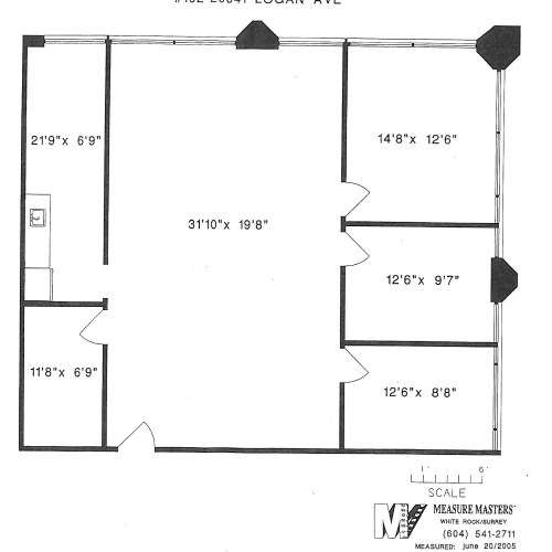 20641 Logan Avenue #102 (dimensions)