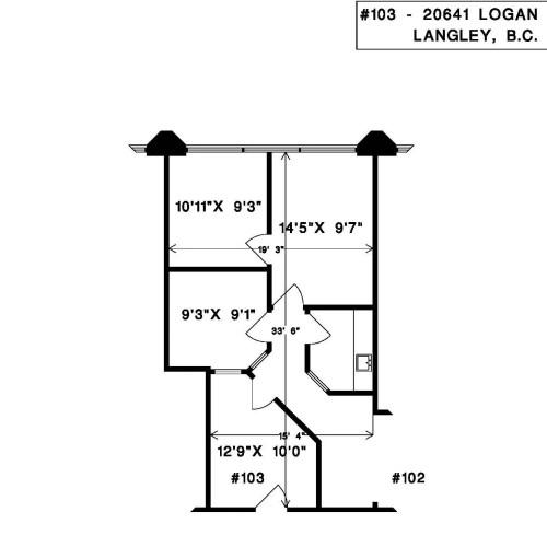 20641 Logan Avenue #103 (dimensions)