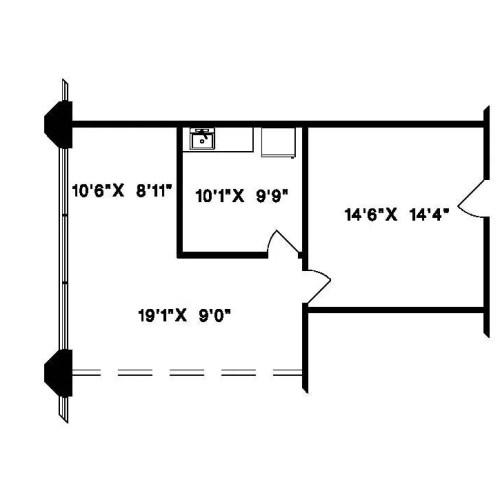 20641 Logan Avenue #202 (dimensions)