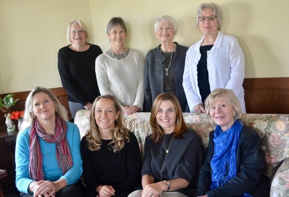 2018 Directors back row: Sandy, Molly, Sallyanne, Kathy front row: Jody, Susan, Sheri, Joan