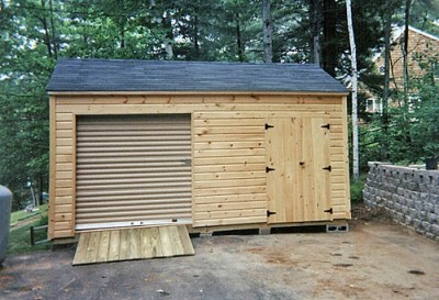 Maine Storage Shed Pictures - Larochelle and Sons Sheds, Lyman ME