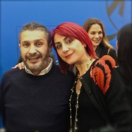 Pascal Millet and I at the show