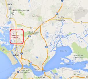 Quake was centered about a mile from the Napa airport