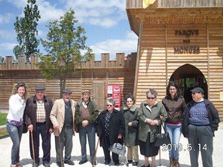 Visita ao Parque dos Monges