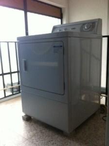 Máquina secar Roupa a gás