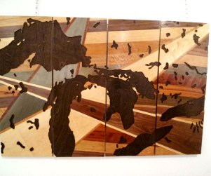 Laser cut Ontario lakes wood art prints by Dan Thompson-Walker - Print #5