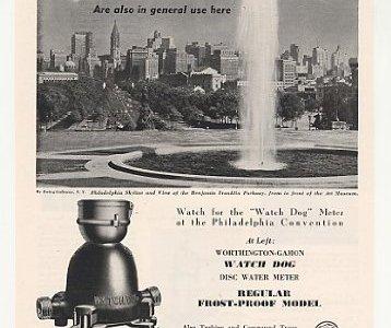 water meter vintage