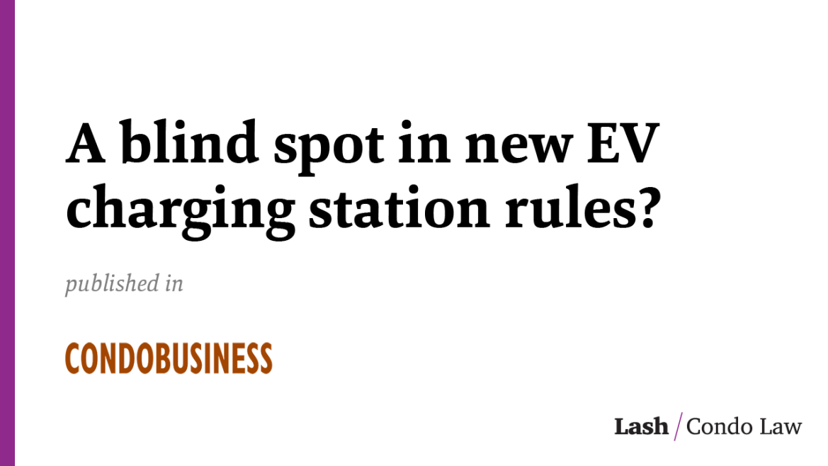 A blind spot in new EV charging station rules?