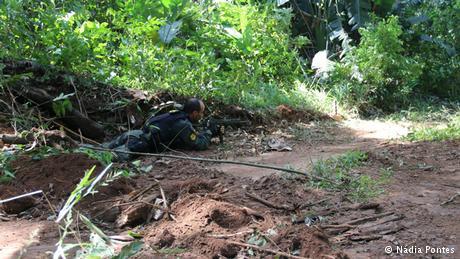 Enfrentamiento armado contra mineros ilegales. Foto: DW Brasil