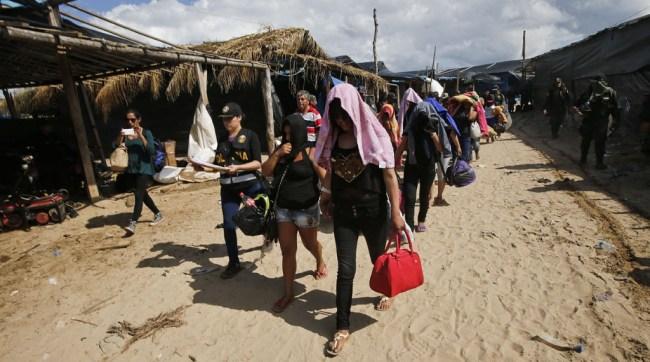 Víctimas de trata de personas La Pampa. Foto: El Comercio