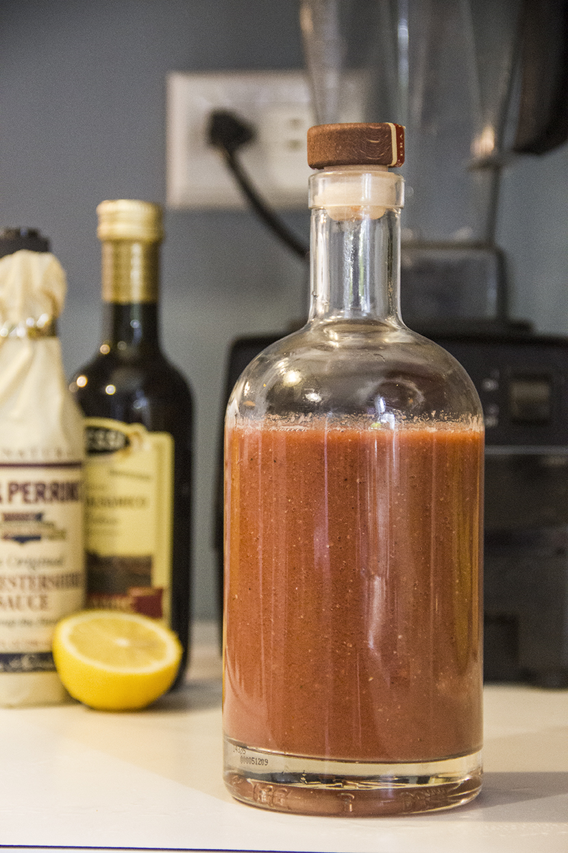 Bloody Mary Mix Recipe complete