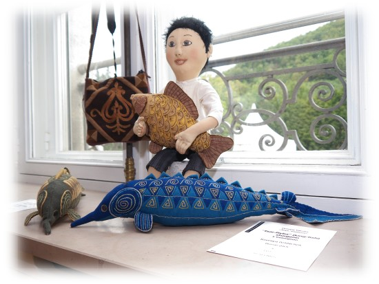 Kseniya Ivanova - Tsar-Riba (king-fish) - Sturgeon - 10x40