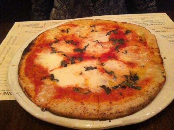 Due Forni - Margherita Pizza Roman Style