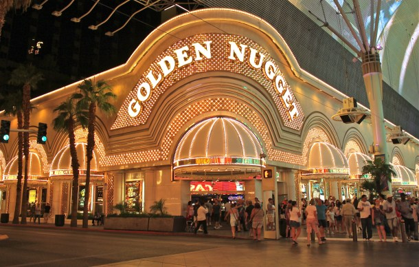 Golden Nugget Hotel and Casino in Downtown Las Vegas
